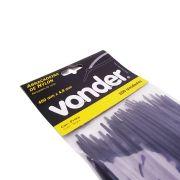 Abraçadeiras De Nylon 100 Un. 400 x 4,8 mm Preta – Vonder