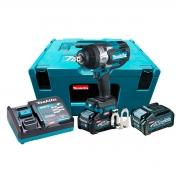 Chave de Impacto 3/4 Pol. a Bateria 40V Makita TW001GM201
