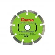 Disco de Corte Diamantado Segmentado 180 MM Cortag