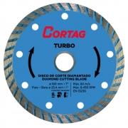 Disco de Corte Diamantado Turbo 180mm - CORTAG