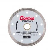Disco de Corte Diamantado Turbo Porcelanato 110mm - CORTAG