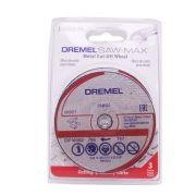 Disco P/corte Metal - Dremel Saw-max C/3 Peças