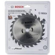 Disco para Serra Circular 184mm Bosch Eco 24 dentes - 2608644329