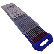 Eletrodo de Tungstênio com 2 por cento de Tório 3.2mm x 150mm