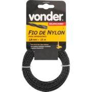 Fio de Nylon 1,8mm x 15m Silencioso - Vonder