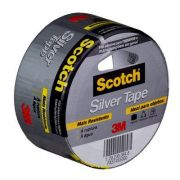 Fita 3M Scotch® Silver Tape - 45 mm x 5 m – Mais resistente