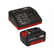 Kit Carregador Einhell Power X-Change Bivolt Com Bateria 18V 4.0Ah
