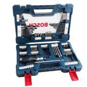 Kit De Brocas E Bits V-line Com 91 Peças 2607017402 Bosch