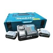 Kit Recarga Mak-Pac 12V CXT Makita Bivolt / 197656-9