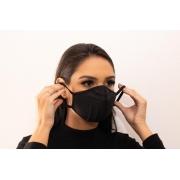 Máscara Elástica Reutilizável Bojo Brasil Ação Antibacteriana
