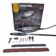 Micro retífica 3000 com Eixo Flexível e 82 Acessórios - DREMEL