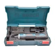 Parafusadeira à Bateria 3,6V BOSCH GO - Kit 33 Peças BIVOLT BOSCH