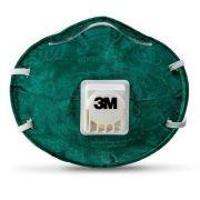 Respirador Descartável Concha 3M™ 8822 PFF2 - Verde