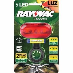 Lanterna Traseira P/ Bicicletas - Rayovac