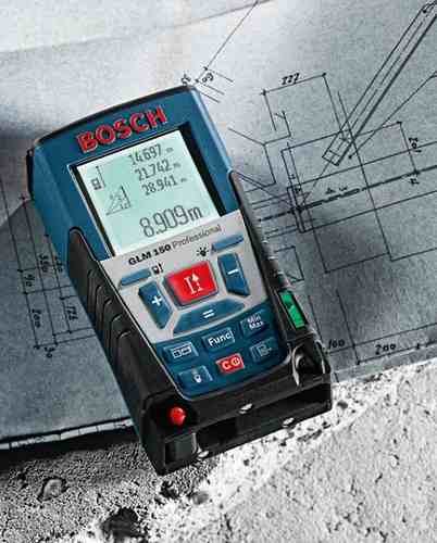 Medidor De Distância Laser Glm 150 - Trena Laser - Bosch