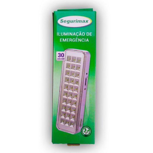 Luminária De Emergência 30 Leds Bivolt - Segurimax