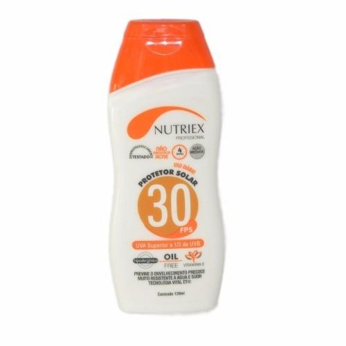 Protetor Solar Fps30 120ml - Nutriex