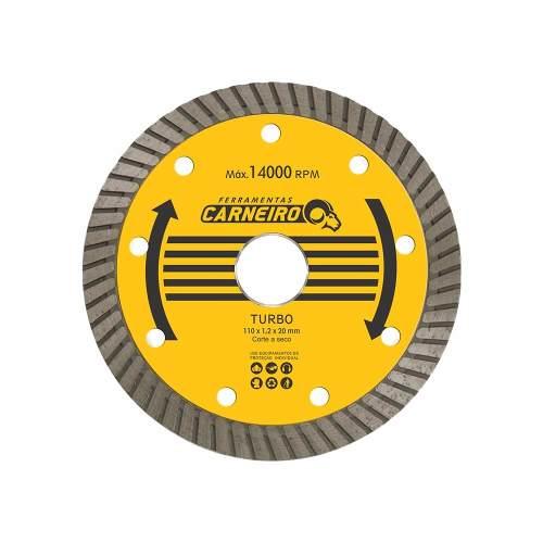 Disco De Corte Diamantado 4.1/2 Turbo - Carneiro
