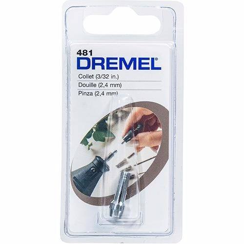 Pinça Para Micro Retífica 3/32 - 2,4mm (481) - Dremel