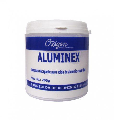 Fluxo Para Solda De Alumínio Aluminex 200g - Oxigen