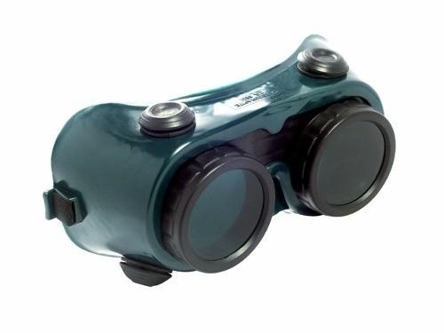 Óculos De Segurança P/ Solda Visor Fixo Cg 250 Carbografite