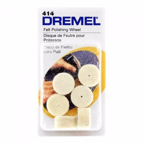 Disco De Feltro 414 P/ Micro Retífica - Dremel 6 Unidades