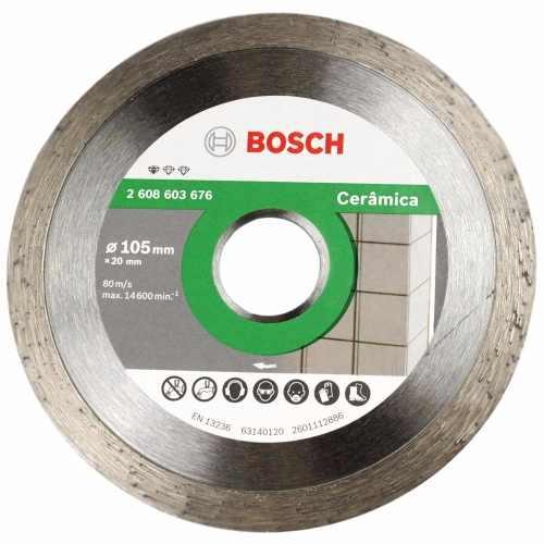 Disco Diamantado Contínuo Cerâmica 105mm - Bosch