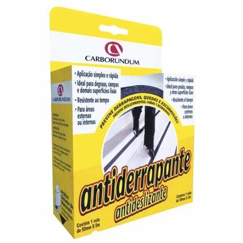 Fita Antiderrapante 50mm X 5m (preta) - Carborundum