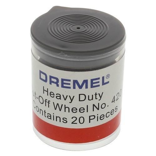 Discos De Corte Dremel 420 C/20 Unidades