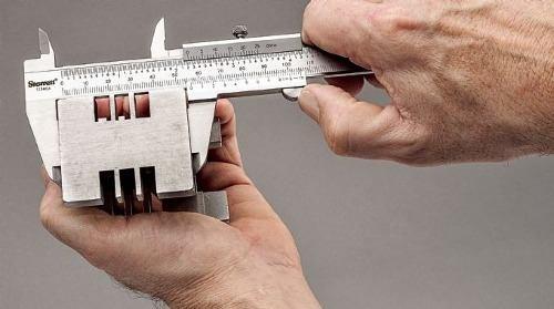 Paquímetro Inox 150mm Série 125meb - Starret