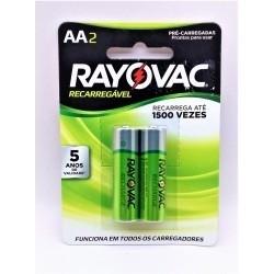 Pilhas Recarregáveis Econômica Aa 1,2v 1350 Mah - Rayovac