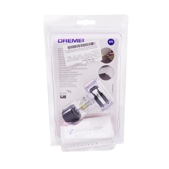Acoplador Mini Serra C/ Disco P/ Retífica - 670 Dremel
