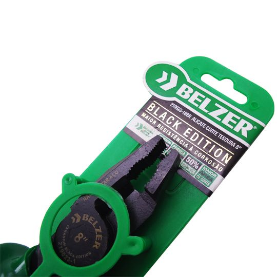 Alicate Corte Tesoura 8 Pol. Black Edition – BELZER