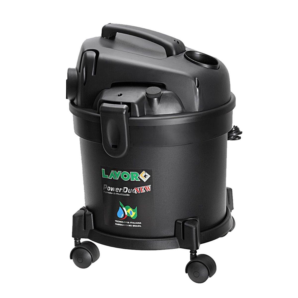 Aspirador de Pó e Água Lavor 1250W - Power Duo New 110V
