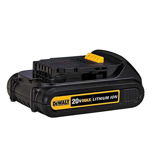 Bateria Compacta 20V Max Lithium Ion 1,3Ah Dewalt