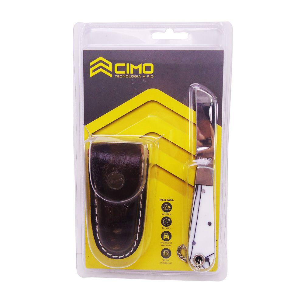 Canivete Cimo Inox 20/3 Com Bainha