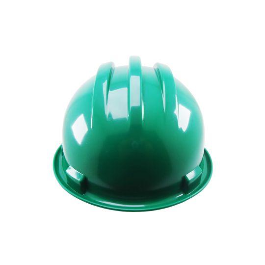 Capacete de segurança tipo 2, Aba frontal, Classe B, Verde