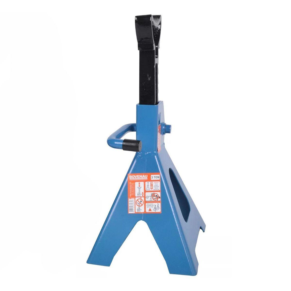 Cavalete Mecanico Capacidade 3 Toneladas Ct3000 – Bovenau