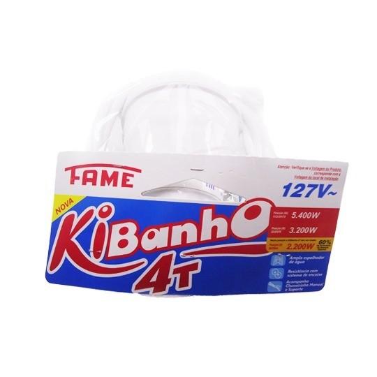 Chuveiro Kibanho 4t 127v. 5.400w - Fame