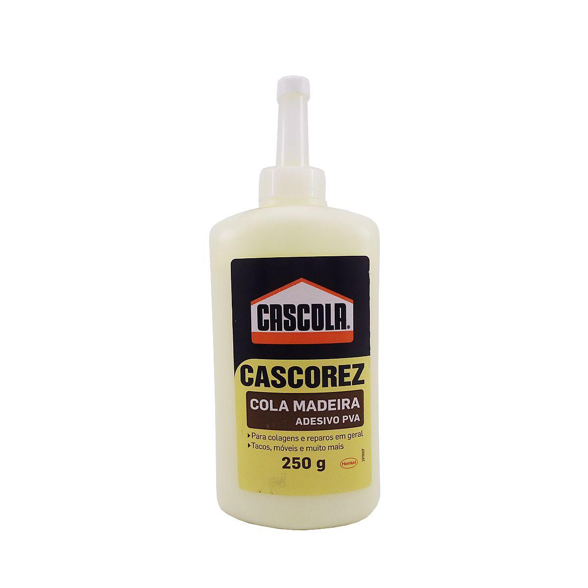 Cola de Madeira Adesivo PVA Cascola 250g
