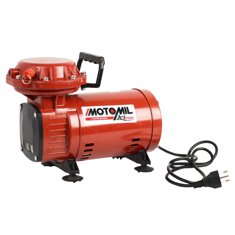 Compressor de Ar Direto 2,3 Pés Jetmais Motomil Bivolt
