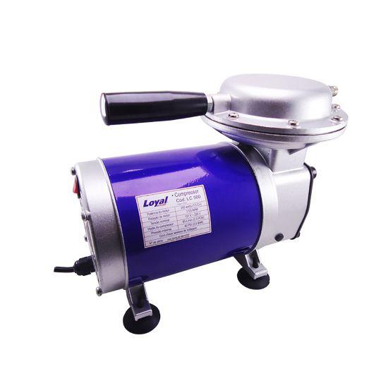 Compressor de Ar Direto Bivolt com Kit para Pintura - LOYAL-LC500