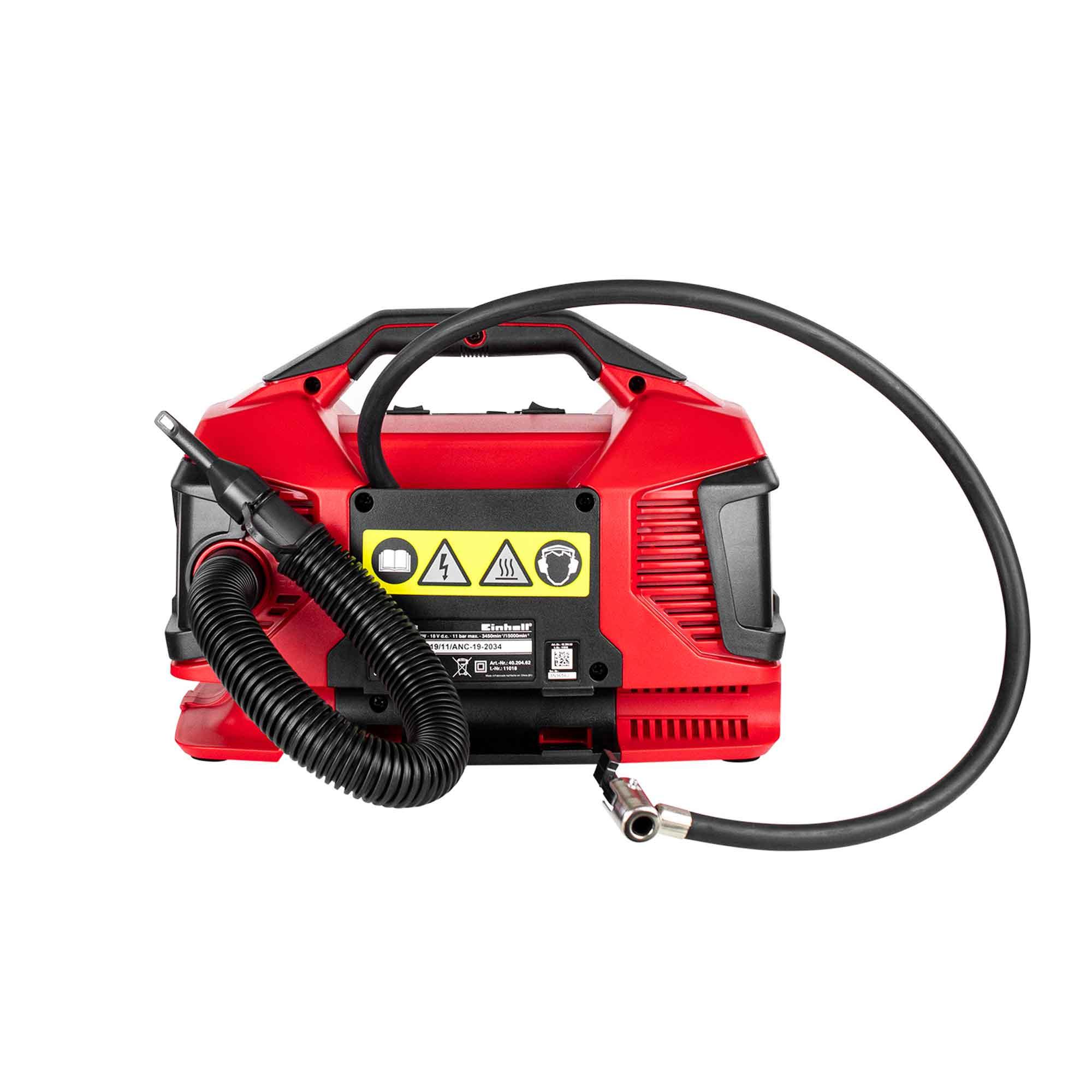 Compressor Híbrido Pressito Einhell a Bateria / Energia Bivolt