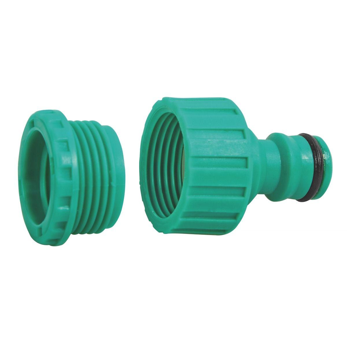 Conector Macho Plástico p/Engate Rápido - Tramontina