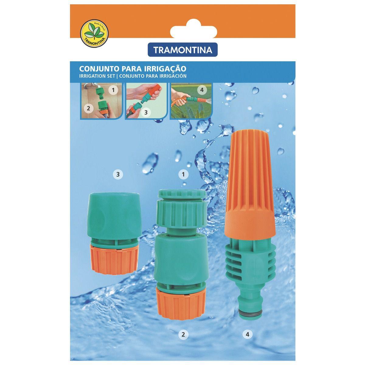 Conjunto para Irrigação Tramontina 4 Peças
