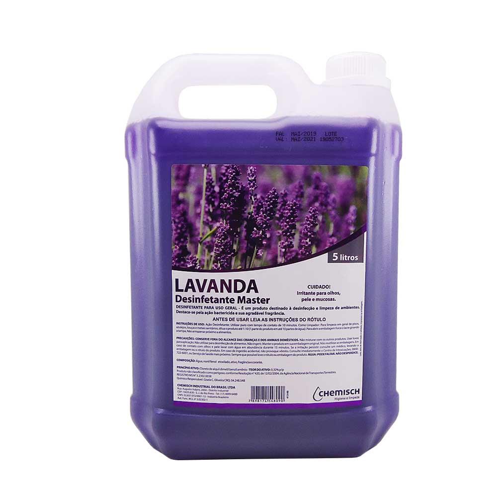 Desinfetante Master Lavanda 5 Lts Chemisch