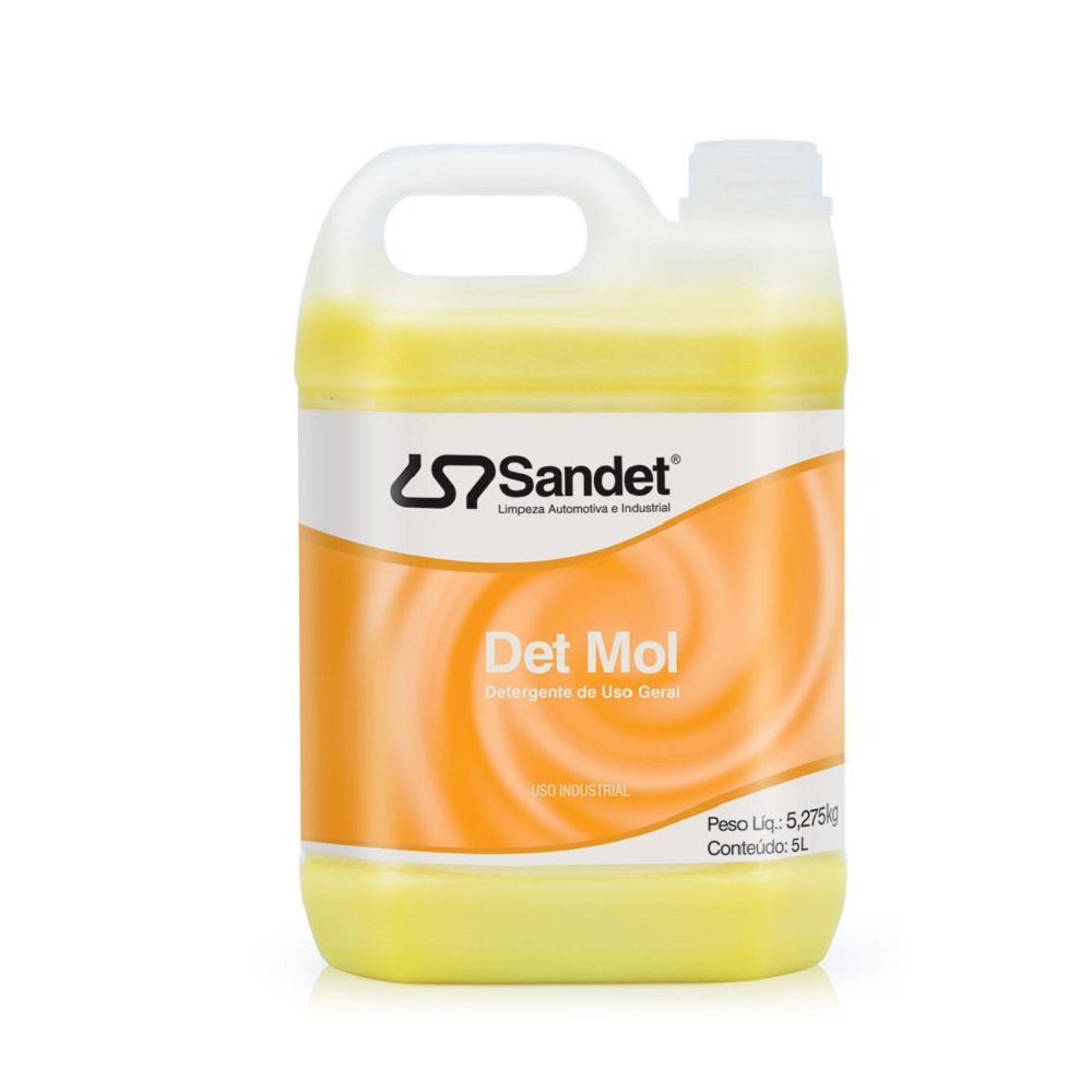 Shampoo Automotivo Concentrado Det Mol 5L Sandet