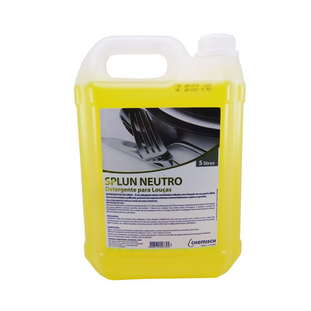 Detergente para Louças Neutro 5 Lts Chemisch