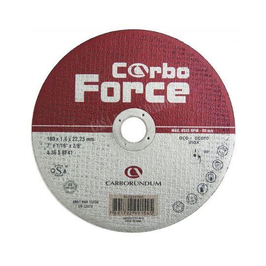 Disco Corte 7 Polegadas – P/ Aço e Inox – Carbo Force