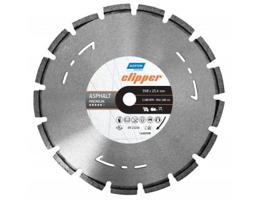 "Disco de Corte Diamantado 14"" Clipper 350x25,4mm - Premium"